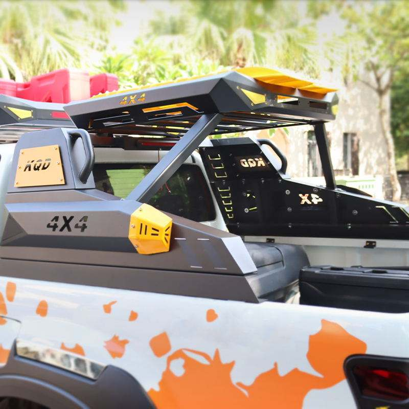 new design high quality roll bar with roof basket for ISUZU d-max 2012-on