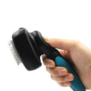 Amazon Hot Seller Self Cleaning Pet Grooming Slicker Brush For Dogs And Cats