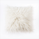 Faux Mongolian Lamb Fur Throw Pillow Cover Decorative Tibetan Cushion Cover Pillow Case for Living Room Bedroom