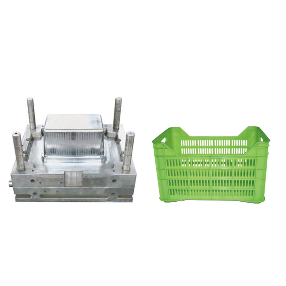 top sale high quality plastic crate injection mould