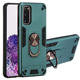 For samsung galaxy a10 a20 m31 a21 case ring back cases 2 in 1 hybrid warframe design shockproof cover magnetic bracket fundas