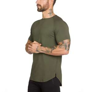 T Shirt Wholesale Sport Wear Mens Gym Wear Fitness Mens Custom Clothing