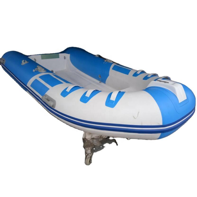 3.3m blue and white CE Certificate Fiberglass Inflatable Boat made in China