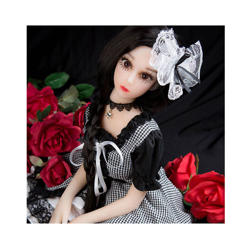 68cm Mini Young Japan Love Masturbation Cheap Silicone Sex Doll Cosplay Noble princess