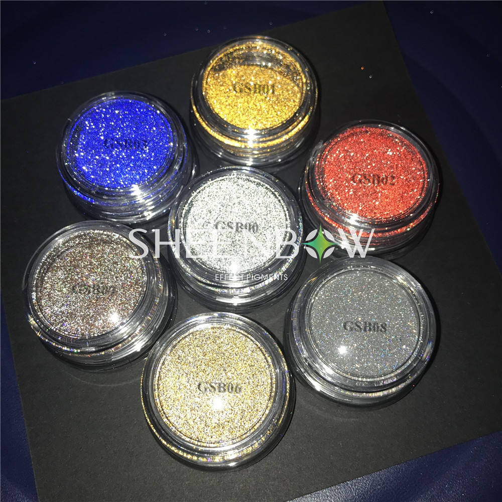 Sheenbow Light Reflective Glitter Powder Flash Glitter Pigment for nails