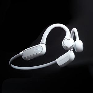 Desain Ergonomis Buka Telinga Latihan Headset Stereo Headphone Bluetooth Wireless Olahraga Earphone
