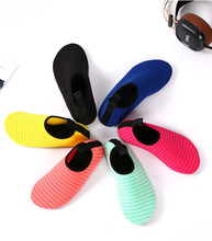 Men Women Water Shoes Swimming Shoes Solid Color Summer Aqua Beach Seaside Sneaker Waterproof Socks Foldable Yoga Shoes