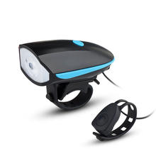 250 Lms Horn Outdoor Speaker Bicycle Lights Mountain Bike Light Set Usb Rechargeable Led Bike Front Light