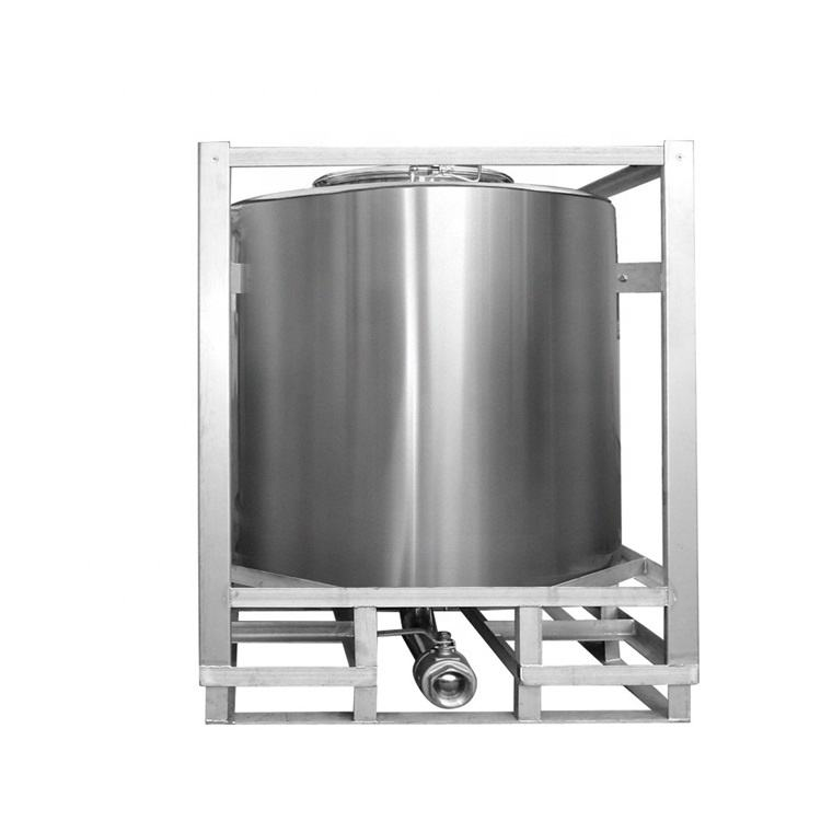 Stainless diesel fuel tank stainelss steel ibc container for sale square tote