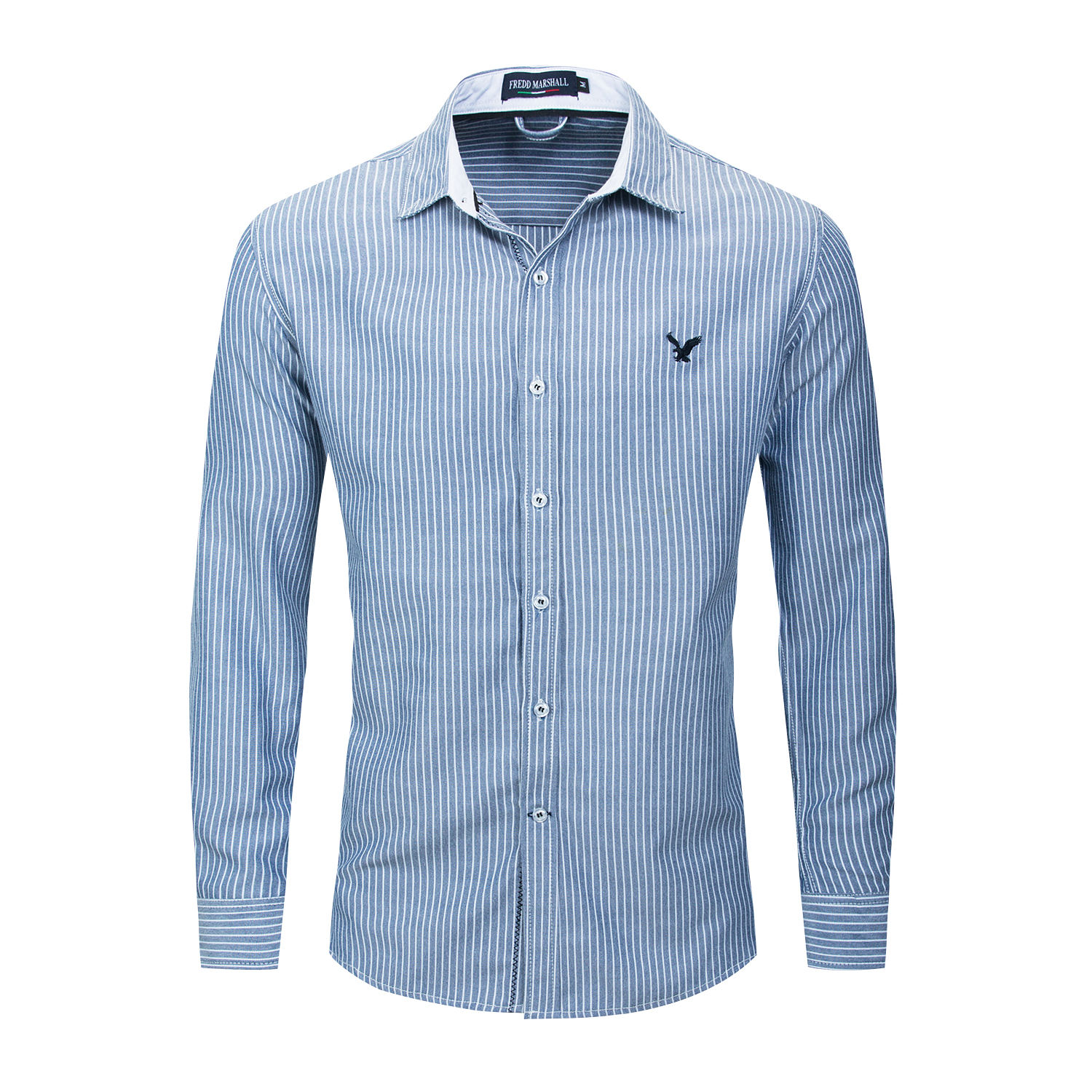 Formal Place Mens Shirt Casual Button Down Long Sleeve Shirt Mens