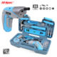 Hispec 35 Pieces 4v USB Cordless Screwdriver Tool Set With Bits