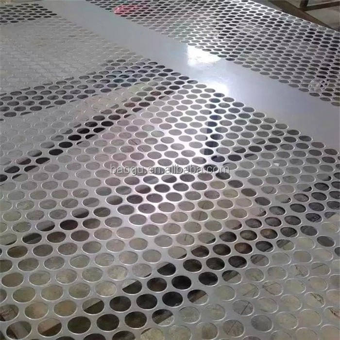 China manufacturer astm 410 1Cr13 ss stainless steel perforated sheet 1.4001 plate