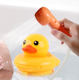 Big Yellow Baby Waterfall Rinser Bath Tub Duck Toys For Shower