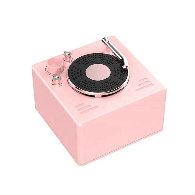 2020 New Year Gift Hifi Music Mini Home Theatre Wireless Speaker Retro Multi-functional Portable Bluetooth Wireless Speaker
