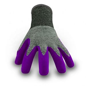 High-end market oil proof anti cut gloves