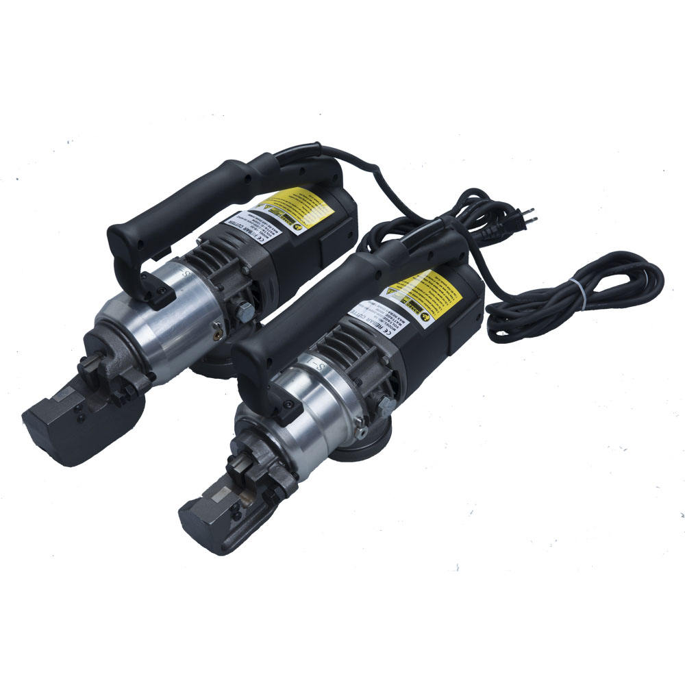 Construction site use hand held hydraulic easy operate small volume rebar cutter portable steel bar cutting