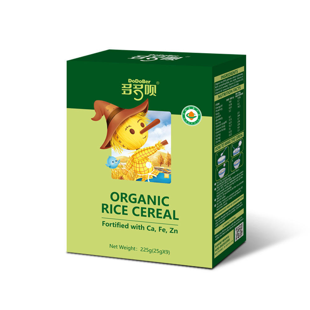 Baby food Baby Cereal Infant formula rice flour Organic baby cereal