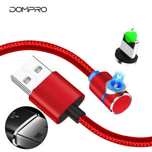 New arrival LED light 18 pin usb data magnatic cable