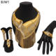 Big jewelry set wedding gift Mirafeel 2019 fashion designs african style dubai gold plated wedding jewelry set BJW1-4