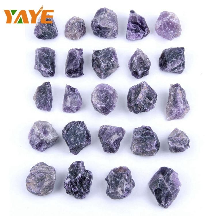 Bulk Wholesale Factory Supply Rough Gemstone Crystal Raw Amethyst