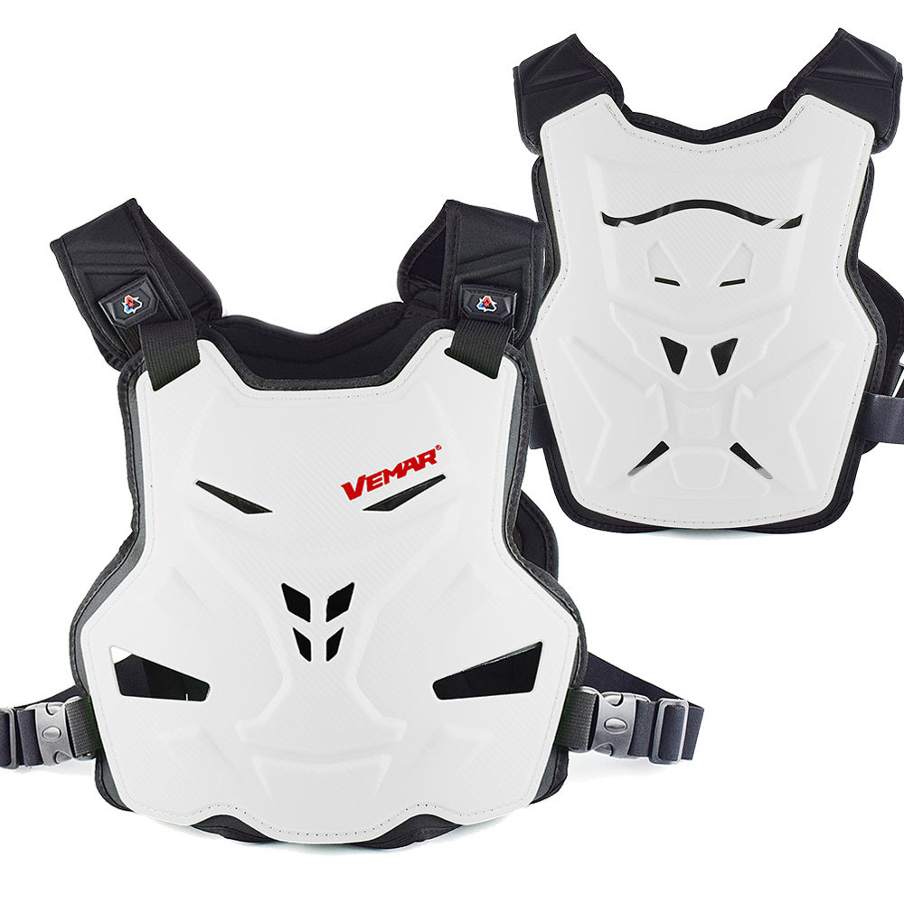 Vemar Motorcycle Body Armor Motorcycle Jacket Moto Motocross Vest Off-Road Dirt Bike Protective Gear Back Chest Protector