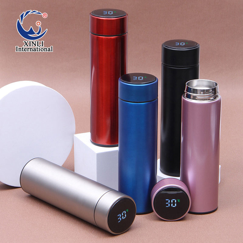 Flask Vacuum Flask Xinli Stainless Steel Water Bottle Double Wall Travel Water Bottles Vacuum Flasks Thermos Cup