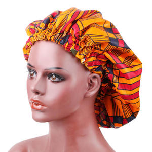 Best Selling 2020 Factory Direct African Pattern Print Luxury Bonnets Sleep-cap Bonnets For Women