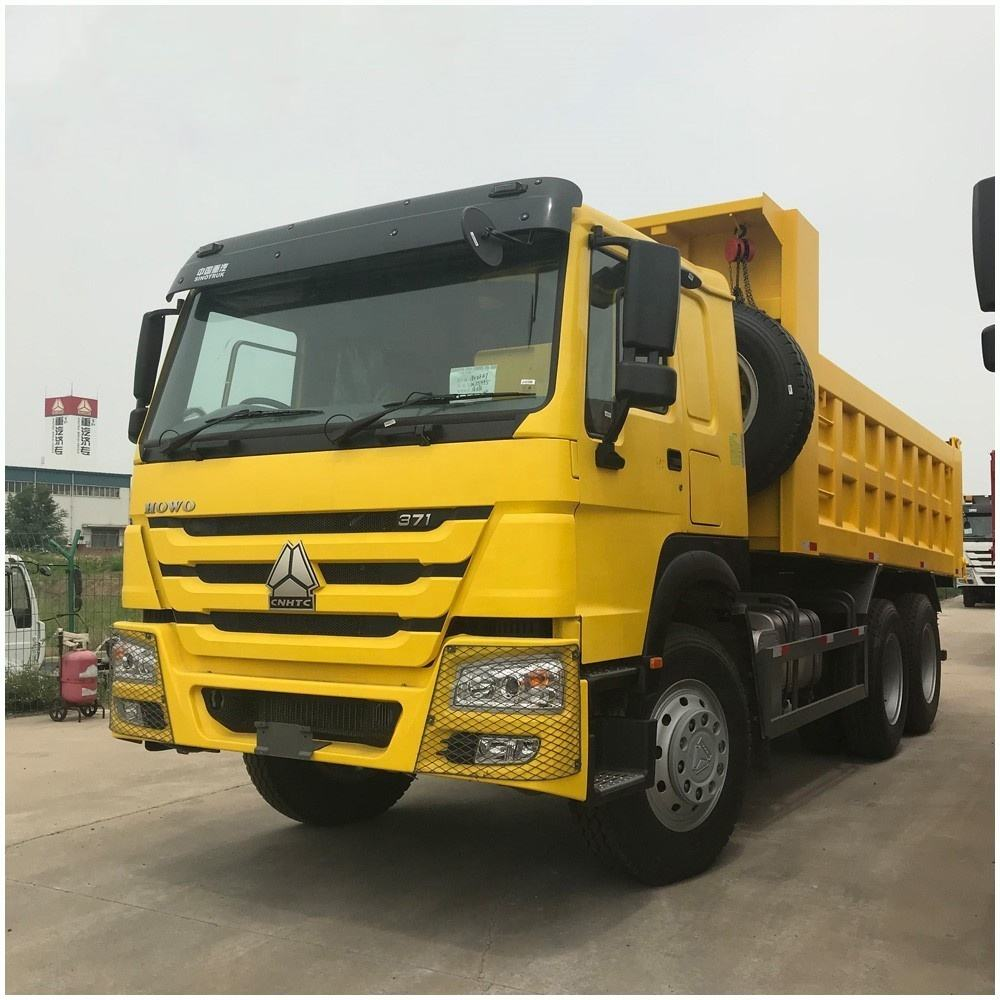 China SINOTRUK HOWO diesel 6X4 380HP 30 ton sino dump truck for sale