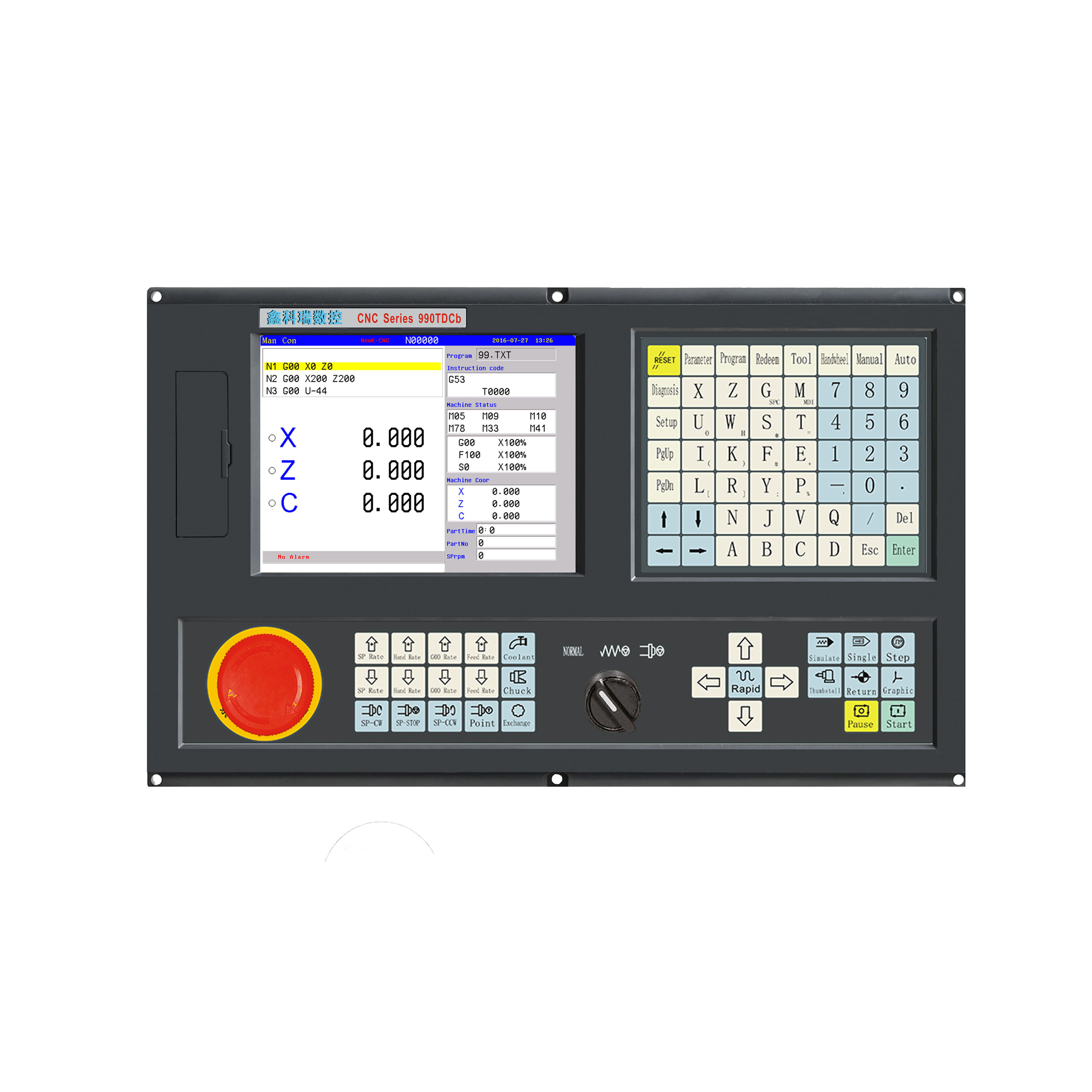 axis cnc controller linear or glass scale same as fagor three axis cnc control usb router controller box
