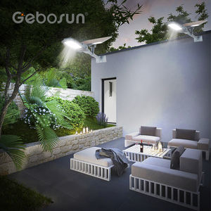 GEBOSUN Adjustable high lumen Aluminum 20w 30w 50w solar led street light price