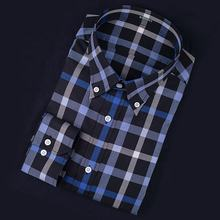 Free Shipping Plain Fabric Custom Tailored Business Shirt Composed Men's Shirt Brushed Cotton