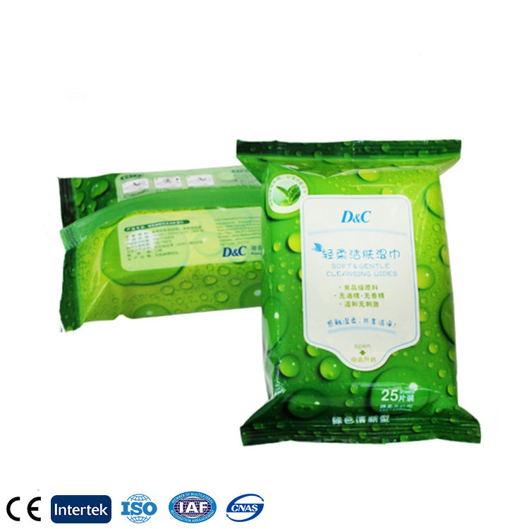 Women Skin Care Cleaning Wet Wipe