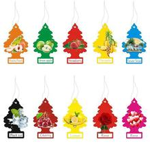 High quality custom both side logo paper car air freshener /home perfume/scent/fragrance America tree