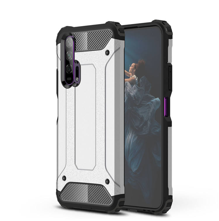 Laudtec Shockproof Hard Rugged Cover PC TPU Armor Back Phone Case for OPPO Realme C2 2020