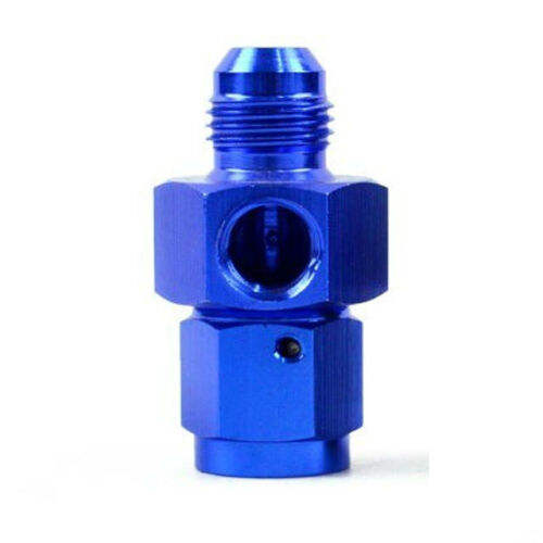 6AN Male to Female Straight Swivel Coupler with 1/8 NPT Port -6 AN AN6 -6AN 1/8""
