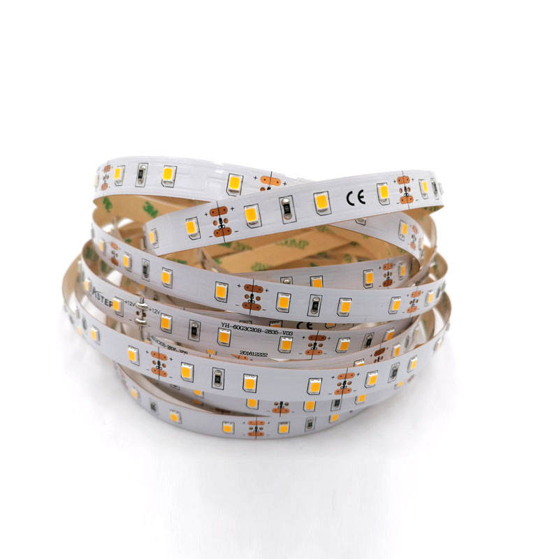 custom led strip light SMD2016 2835 120leds 60 leds per meter 3.5mm 5mm 8mm 10mm 12mm PCB width High CRI90 flex led strip light