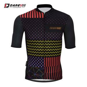 Darevie sports wear for bike bicycles Italy ink reflective unique cycling jersey
