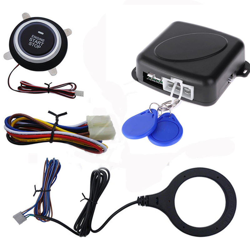 China Supplier Wholesale Smart Car anti hijacking keyless entry car alarm system pke push button engine start stop system