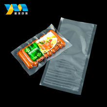 Custom printed heat seal resealable vacuum food storage bags