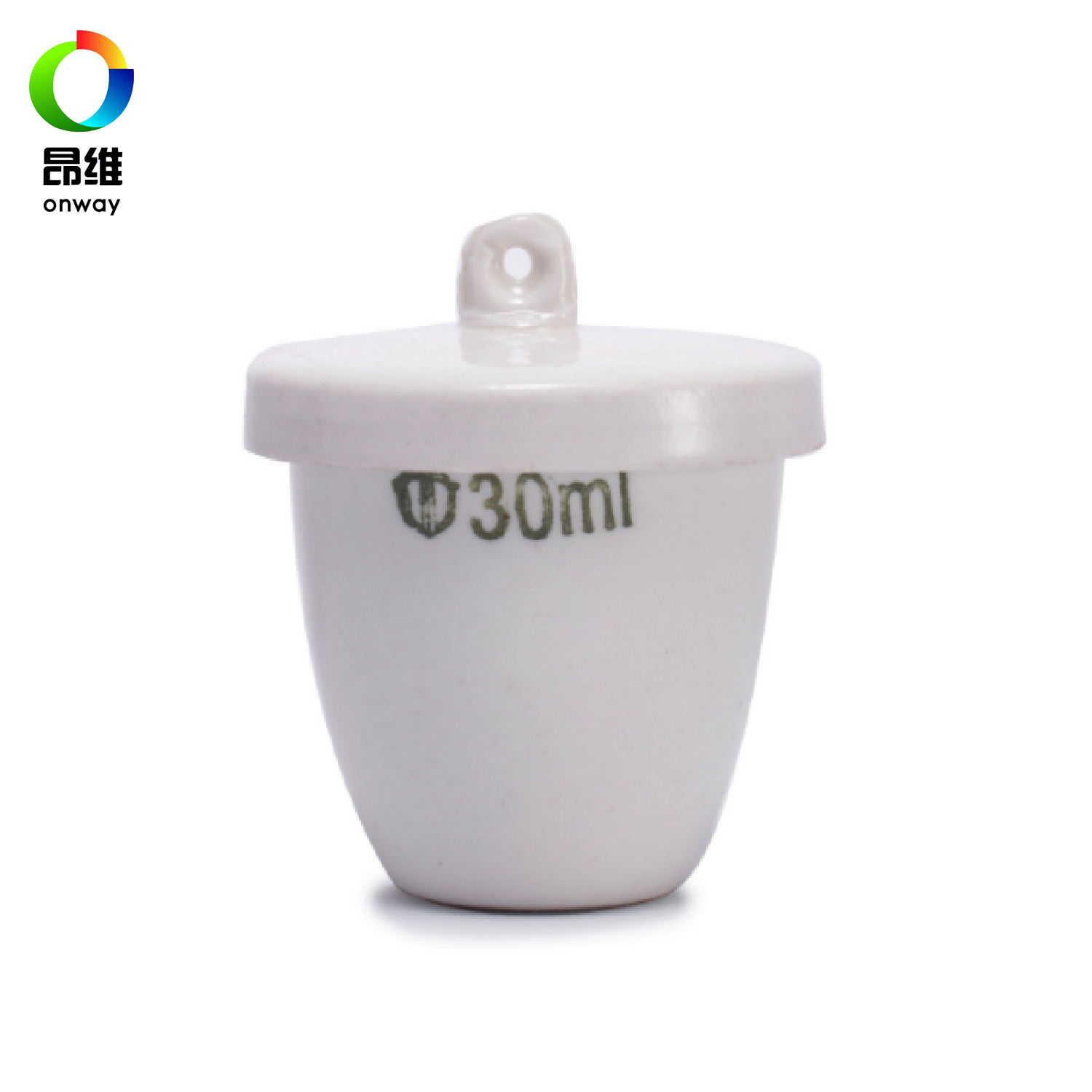 Porcelain crucible for AAC/ALC Raw material test