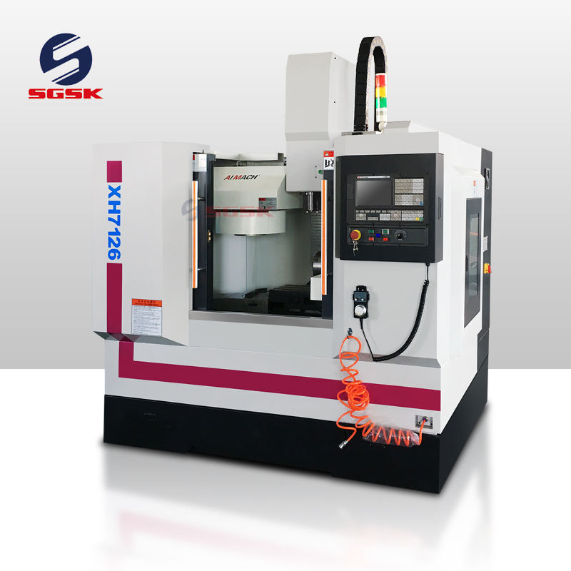Cheap mini metal cnc milling machine XH7126 3 axis small cnc machine milling