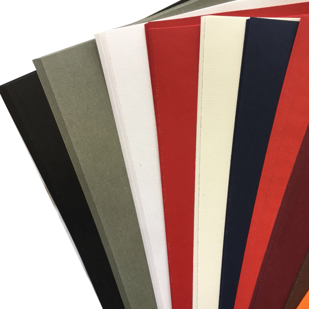 Free Samples Customized 230gsm 700x1000 mm Colored Embossed Scrap Booking Specialty Textured Paper
