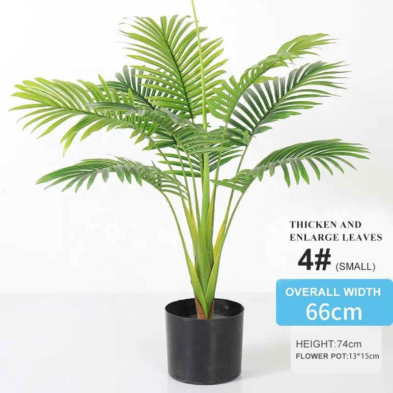 Hot Sale Wholesale Artificial Indoor Decoration Artificial Fake Palm Tree Plant