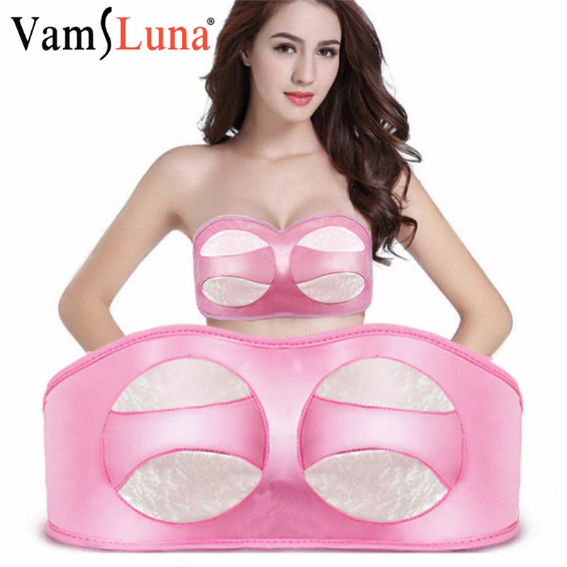 Breast Enlargement Instrument Electric Vibratory Bra Massage Therapy Lifting Chest Massager Boobs Corrector