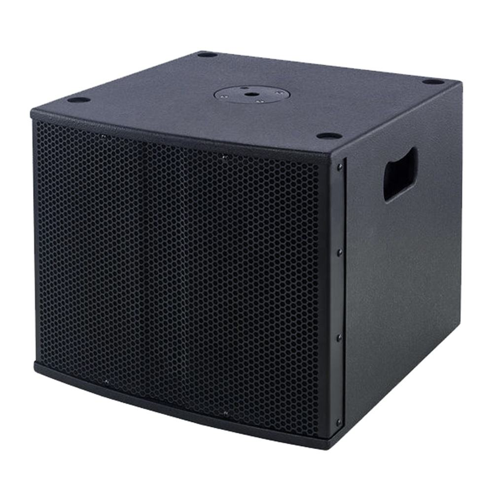 "350W 12"" Professional Subwoofer Wood cabinet Crossover Passive speakers XLR connect output+input black painting Bocina Parlante"