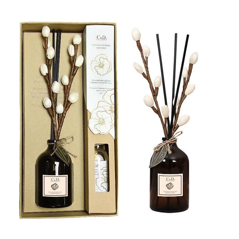 C&D 50ML Manufacture top quality home fragrance aroma reed diffuser