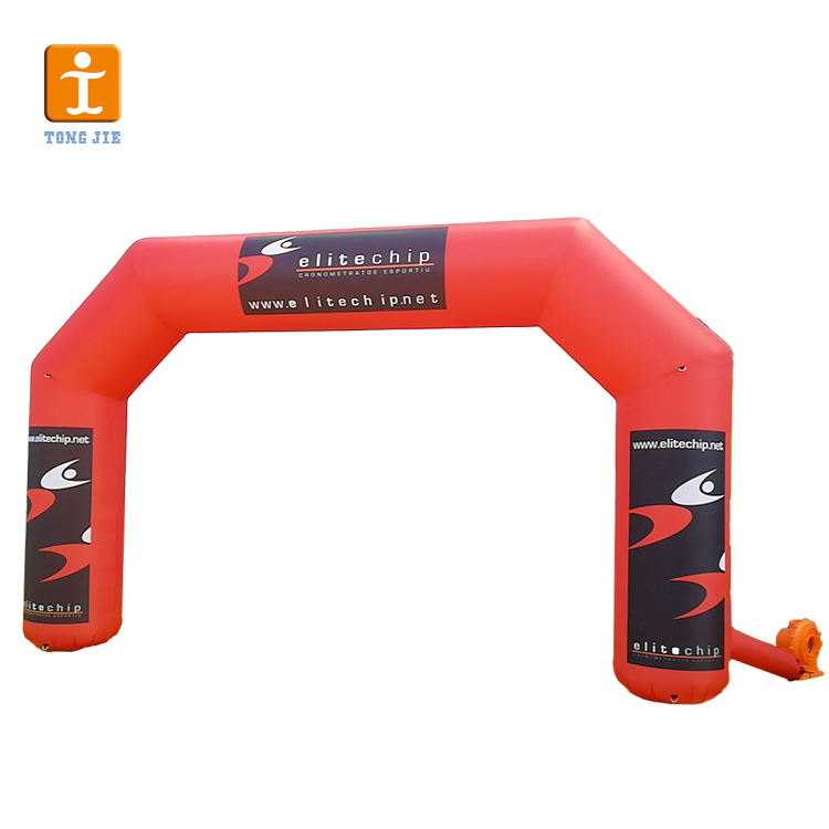Wholesale Durable PVC Oxford Polyester Rectangular Shape Inflatable Arch