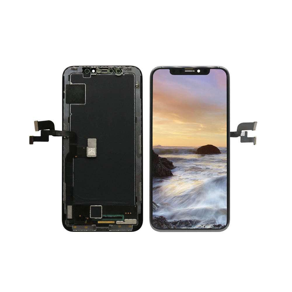 For iphone X LCD 100% original foxconn LCD display screen full set assembly