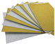 A4 Gold color Handcraft Glitter Paper