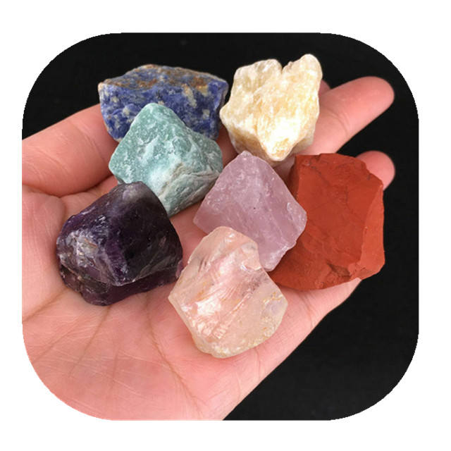 Wholesale crystal minerals natural mixed quartz gemstone rough raw stone for chakra healing products